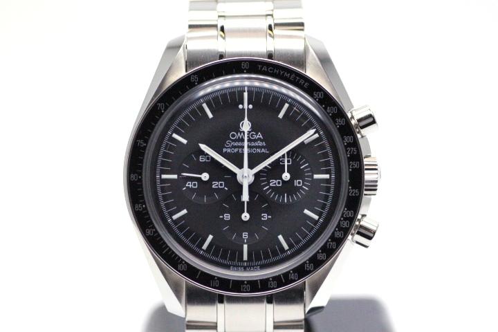 OMEGA    オメガ スピードマスター   プロフェッショナル  メンズ時計 手巻き   クロノグラフ ブラック文字盤 プラスチック風防 ステンレス 3570.50【472】HU
