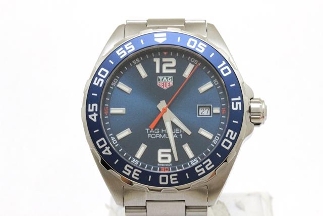 TAG HEUER タグホイヤー 時計 フォーミュラ1 SS ステンレス ブルー文字盤【472】