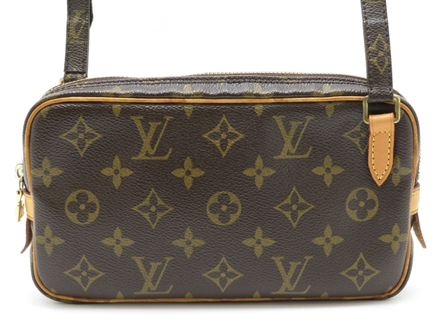 LOUIS VUITTON ルイヴィトン ショルダーバッグ M51828 ポシェット・マルリーバンドリエール モノグラム 【430】2148103251733 image number 0