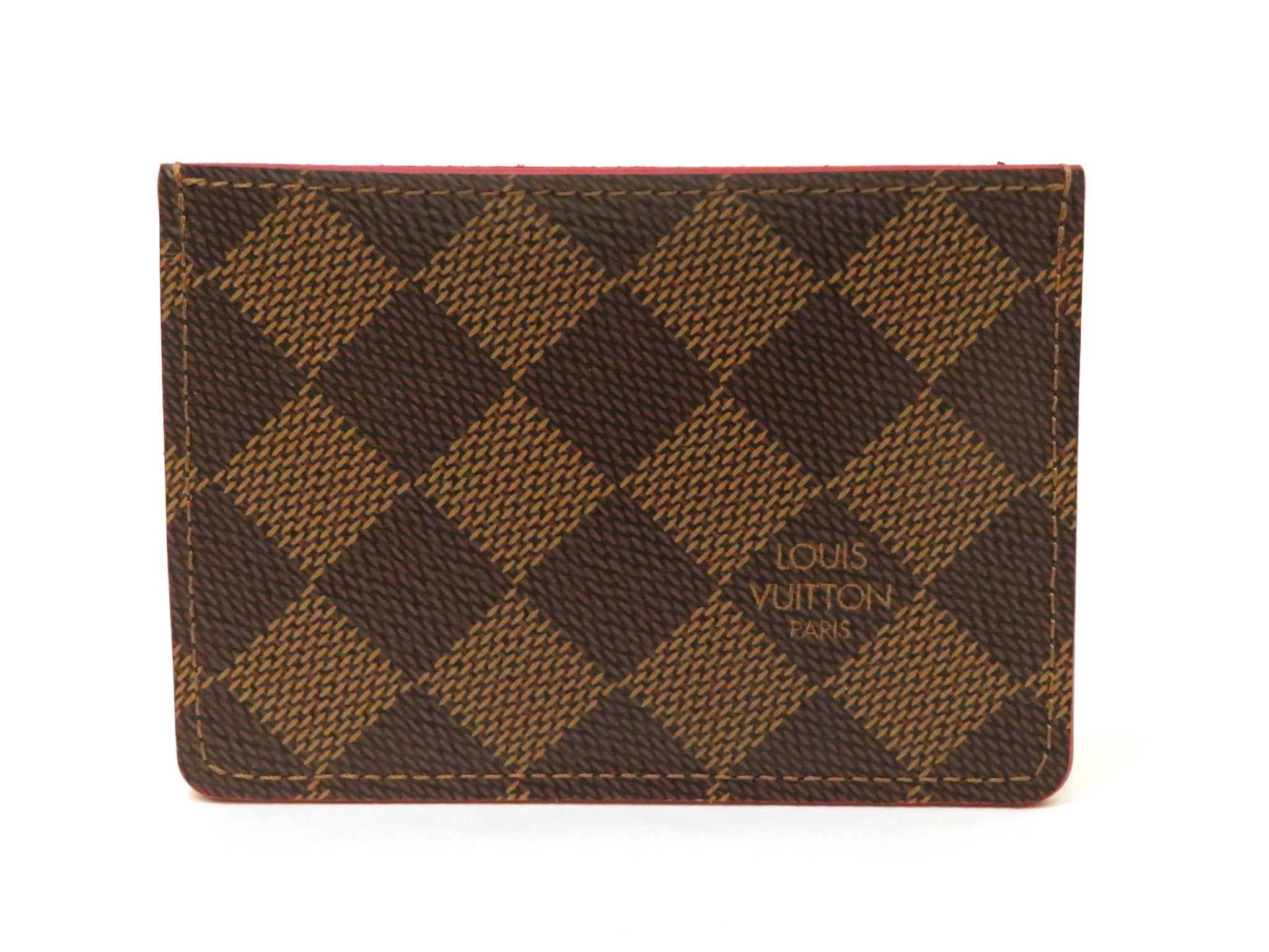LOUIS VUITTON ルイヴィトン カードケース ポルトカルトカイサダミエスリーズ エベヌ N61219 【472】MY image number 1