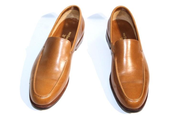 JOHN LOBB ジョンロブ 革靴 メンズ6E 約24.5cm ブラウン レザー 【200】