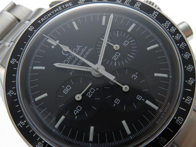 1999年8月並行ギャラ OMEGA オメガ 時計 3560.50 スピードマスター・アポロ11号30周年記念 メンズ ステンレス 手巻き 2143200385114【430】 image number 6