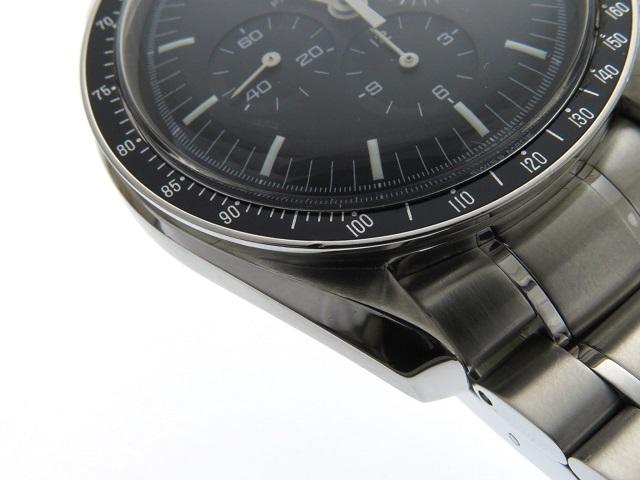 1999年8月並行ギャラ OMEGA オメガ 時計 3560.50 スピードマスター・アポロ11号30周年記念 メンズ ステンレス 手巻き 2143200385114【430】 image number 7