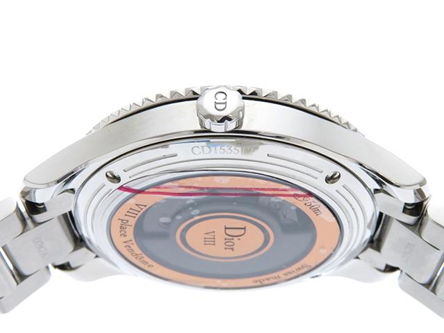 Dior   ディオール VIII  モンテーニュ   CD153512   レディース   自動巻き   ステンレス   SS (2148103294563) 参考定価:907500 【433】 image number 5