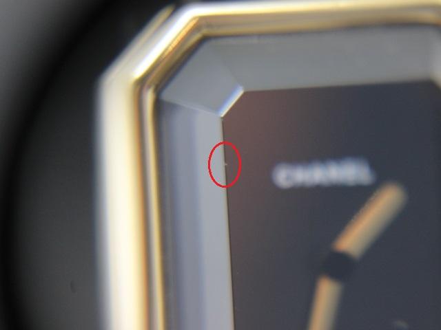 CHANEL シャネル 時計 プルミエール K18 YG/革 イエローゴールド/エナメル ブラック クォーツ (2148103259708)【200】 image number 8