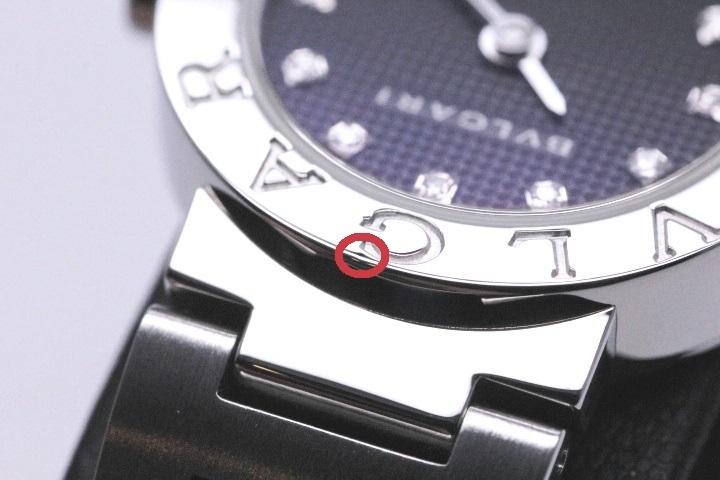 BVLGARI ブルガリ 時計 レディース クオーツ BB23SS ブラック12PD文字盤 ステンレス【471】 image number 5