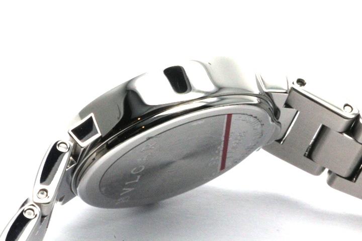 BVLGARI ブルガリ 時計 レディース クオーツ BB23SS ブラック12PD文字盤 ステンレス【471】 image number 8