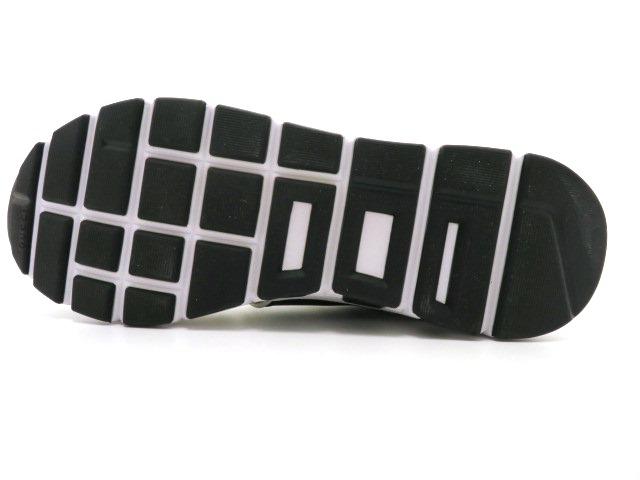 GUCCI グッチ スニーカー カーフ ホワイト/ブラック メンズ9 【4342】 image number 2