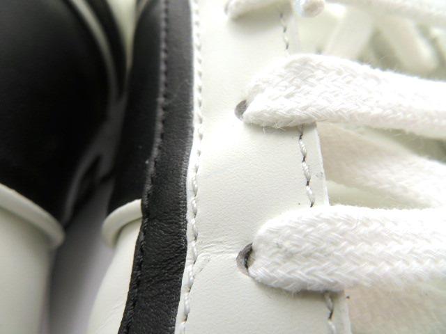 GUCCI グッチ スニーカー カーフ ホワイト/ブラック メンズ9 【4342】 image number 11